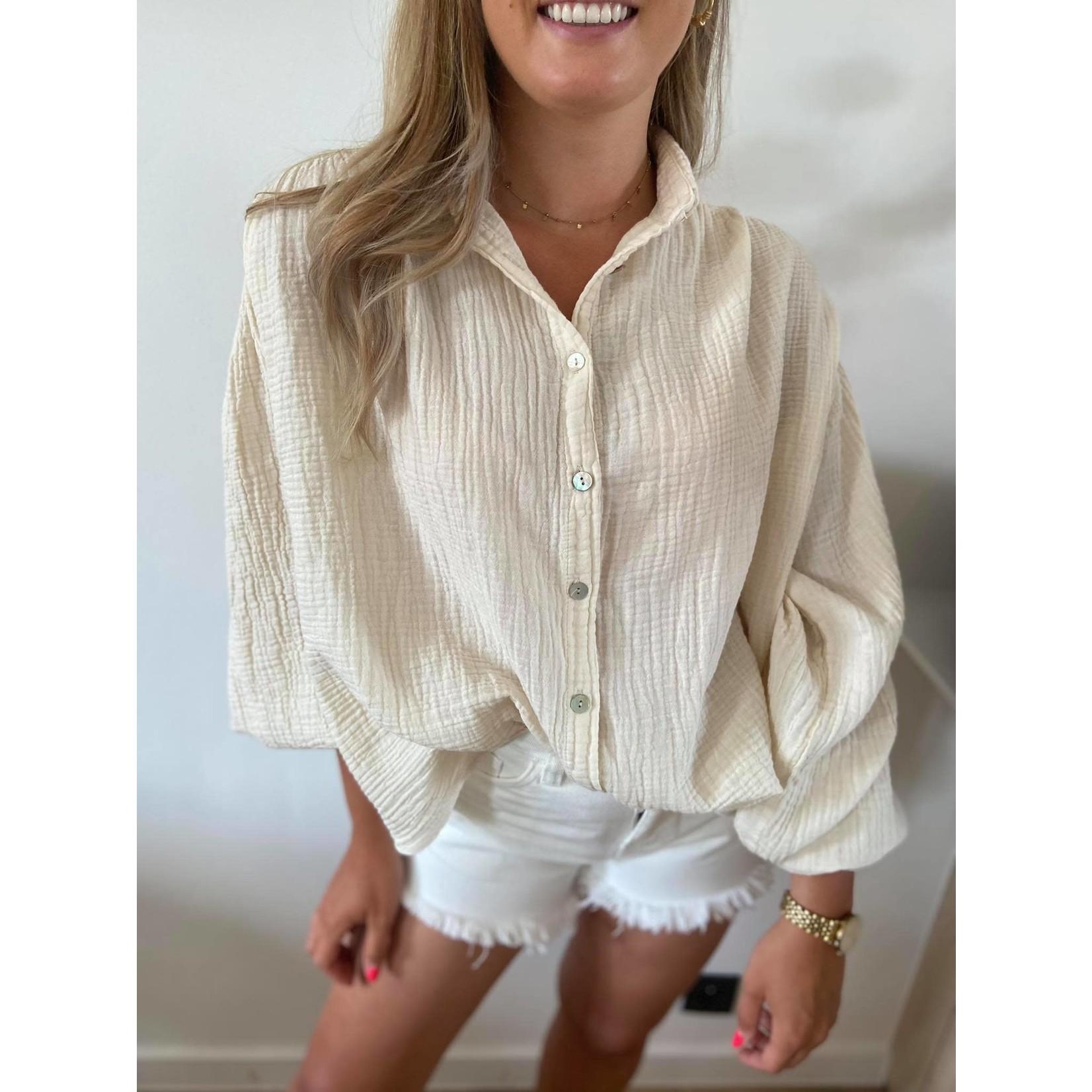 Tetra blouse beige TU