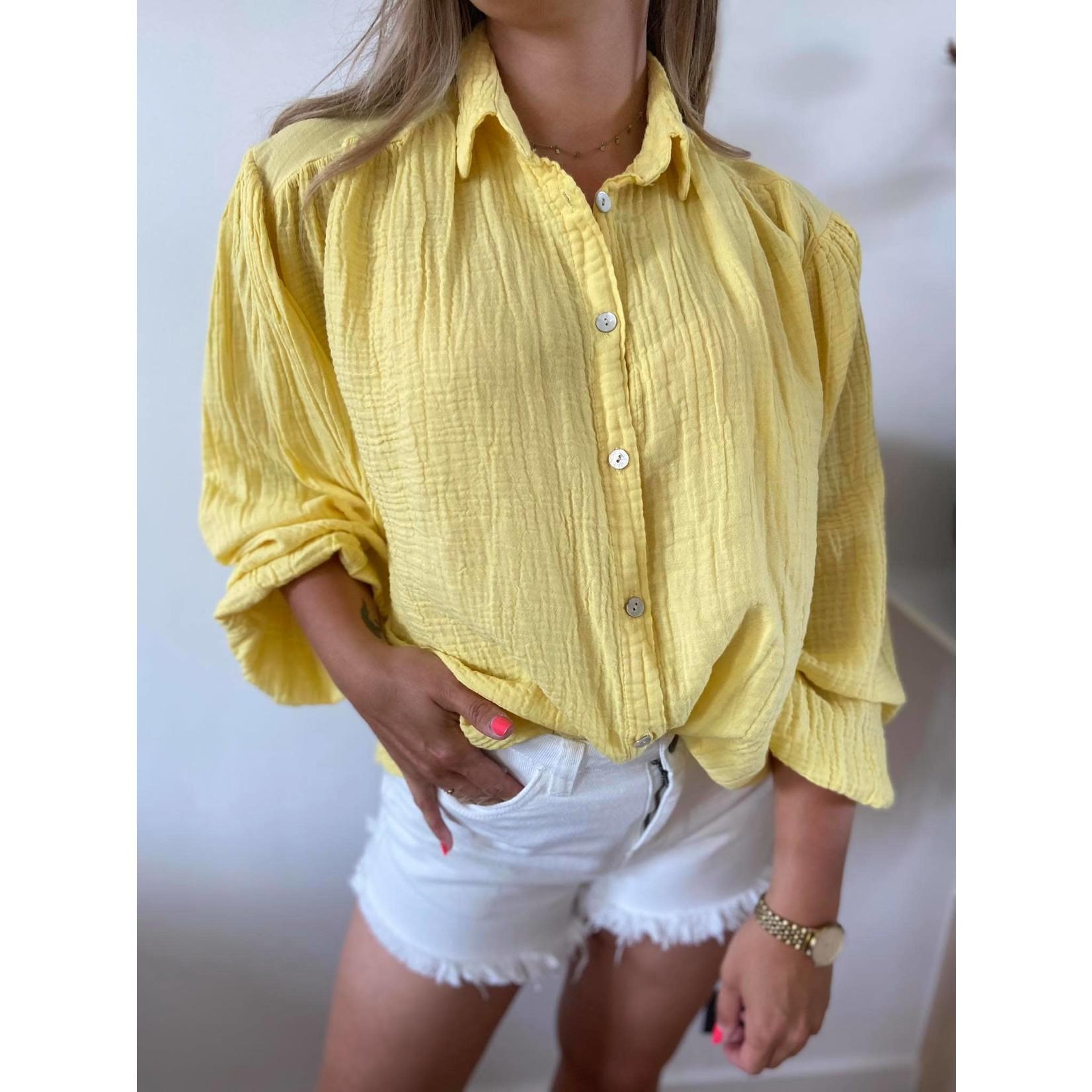 Tetra blouse geel TU
