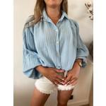 Tetra blouse blauw TU