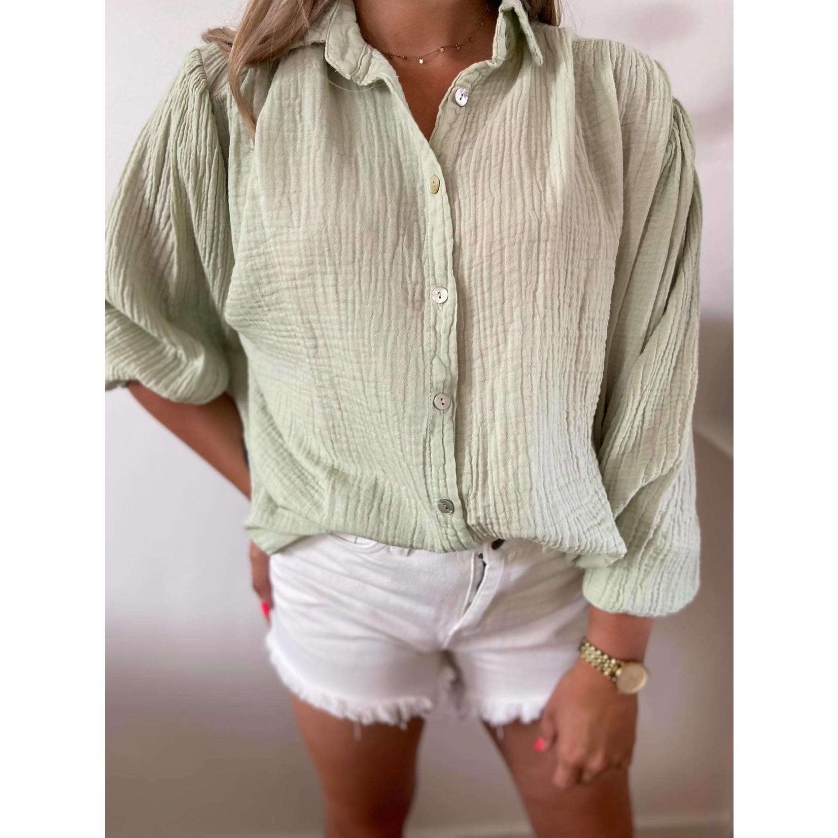 Tetra blouse mint TU