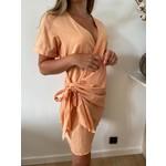 Agnes dress light orange