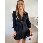 Tetra blouse detail  black
