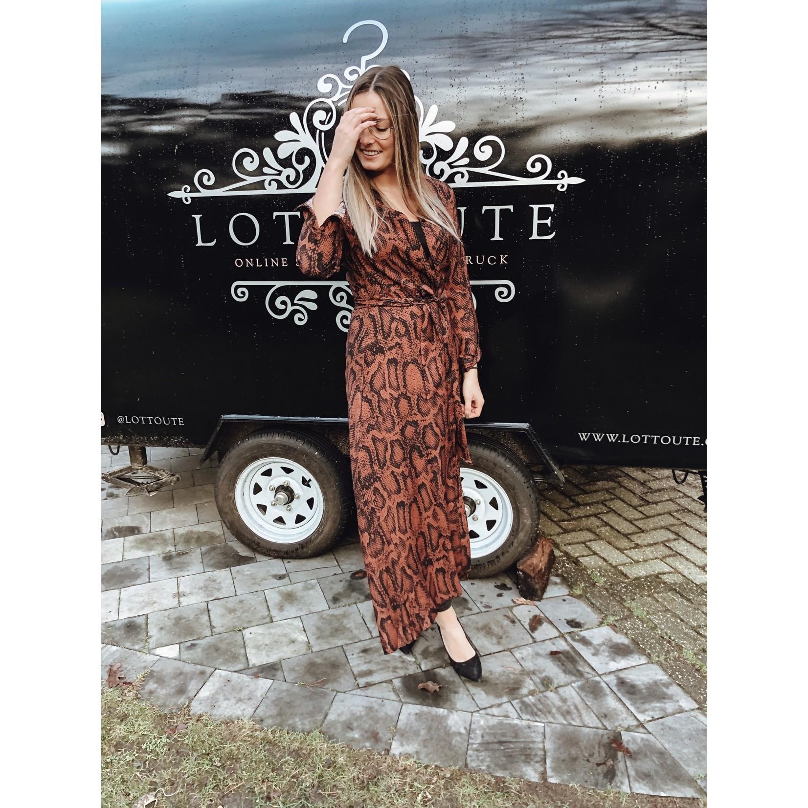 Dress Lode bruin