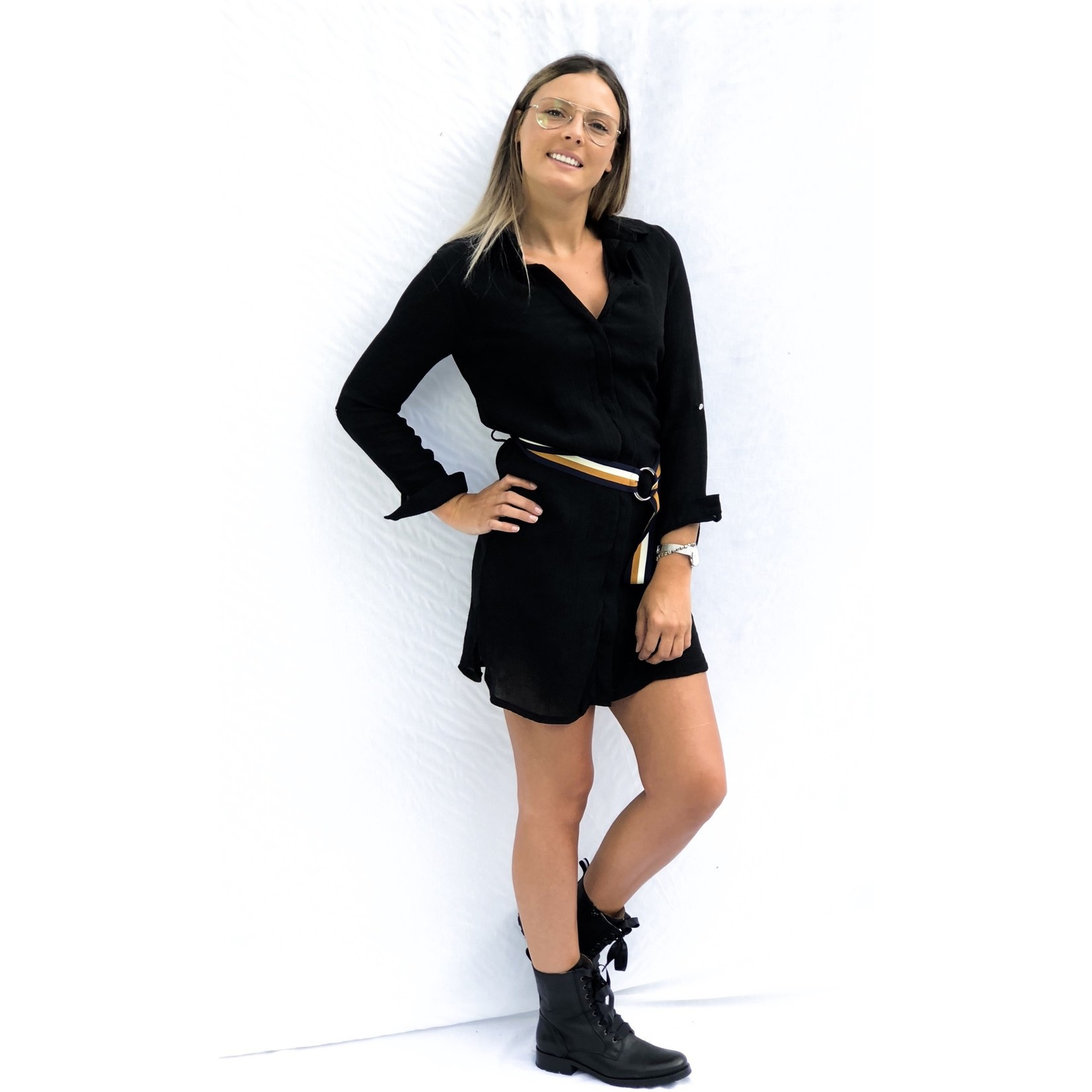 Dress Charisse zwart