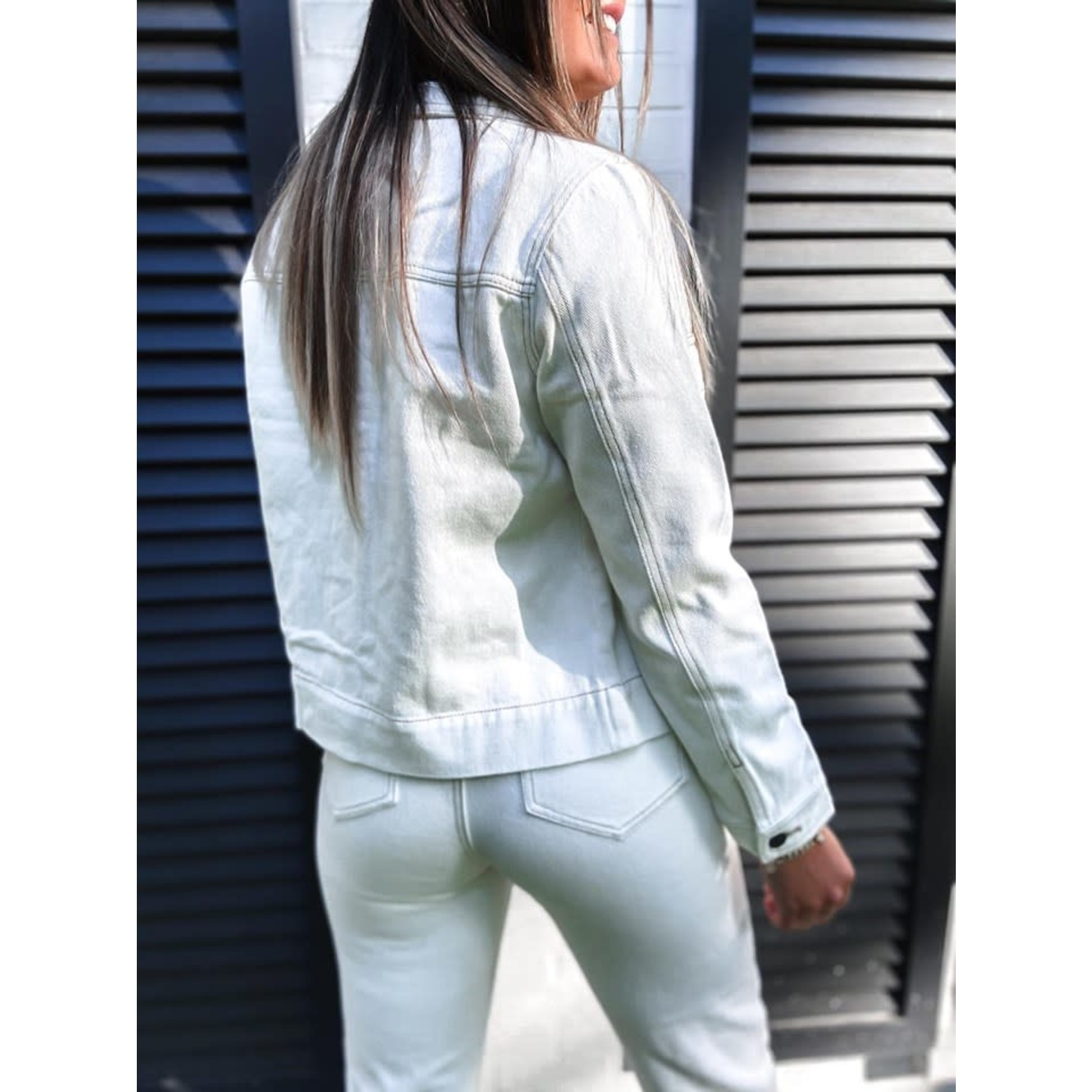 LINA HIGH WAIST JEANS white