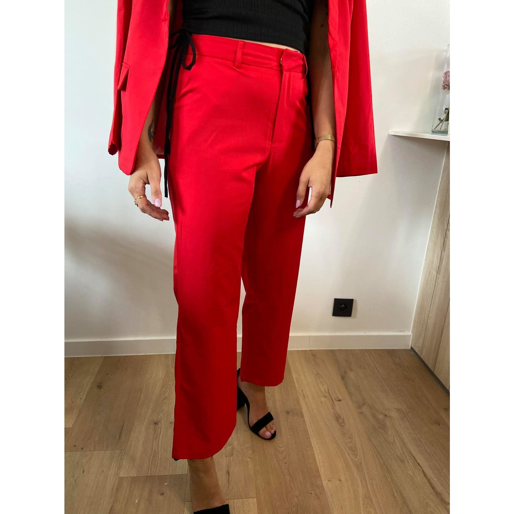 VALERIE PANT red