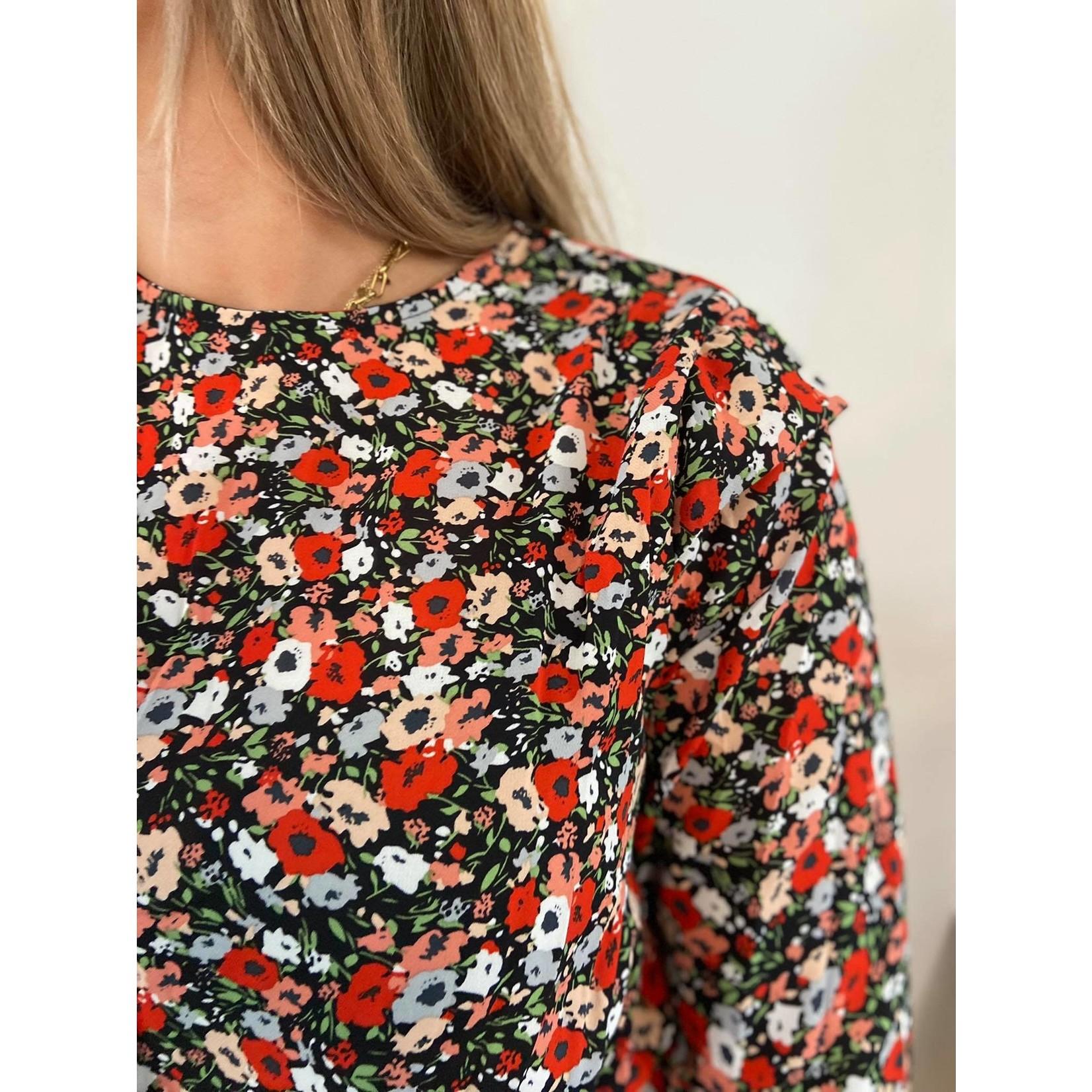 SAVANNAH DRESS red flower