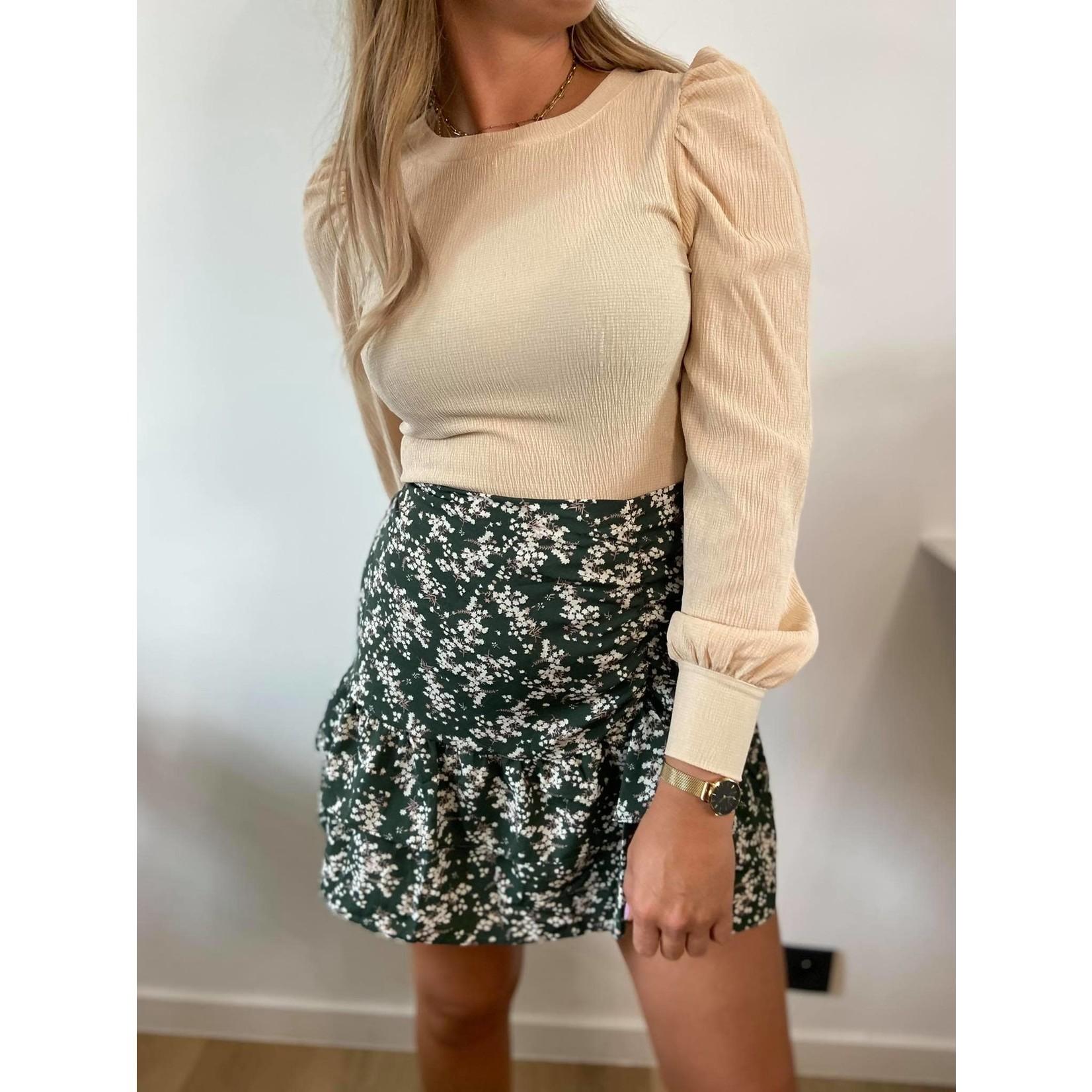 Skirt Ciara green