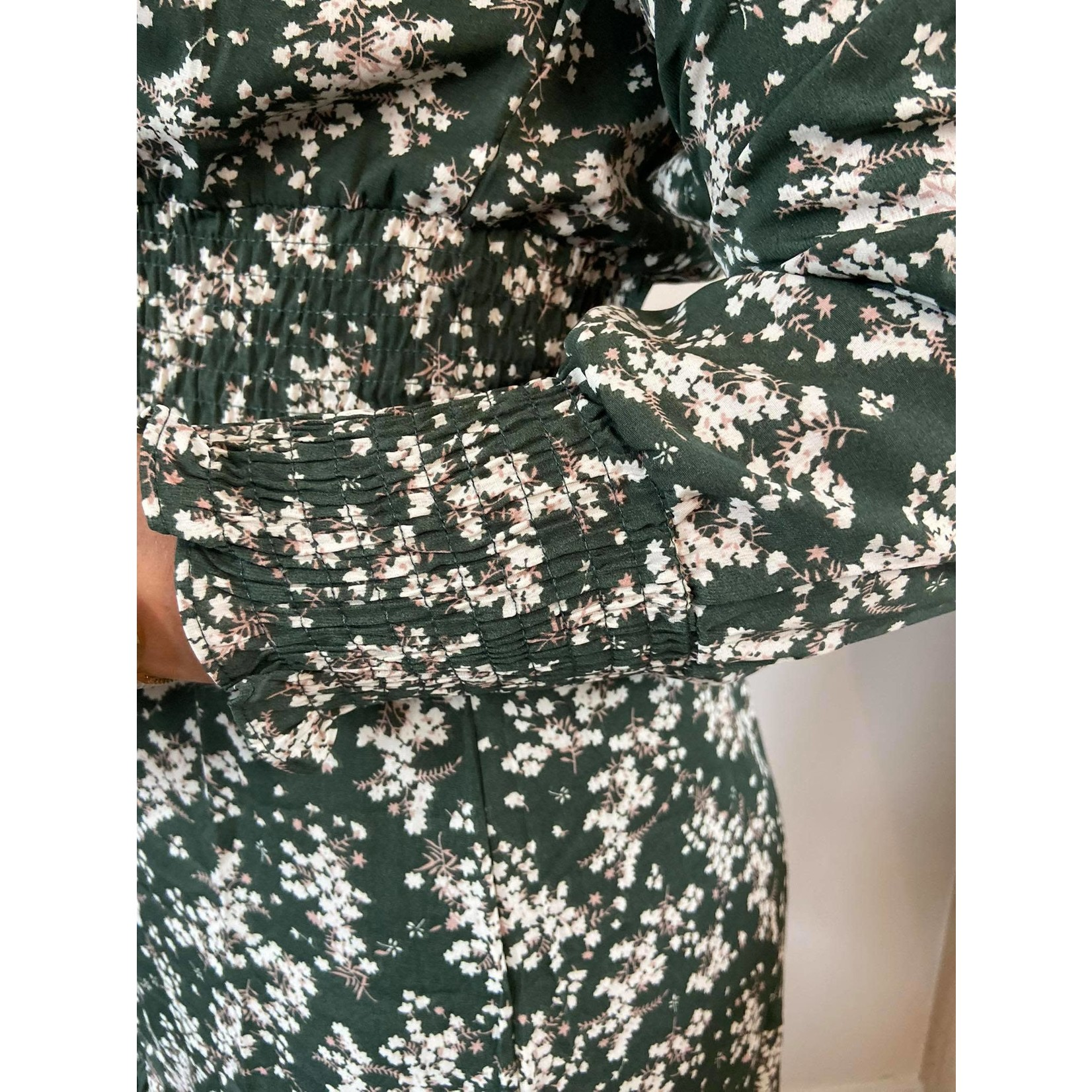 Dress Ava green