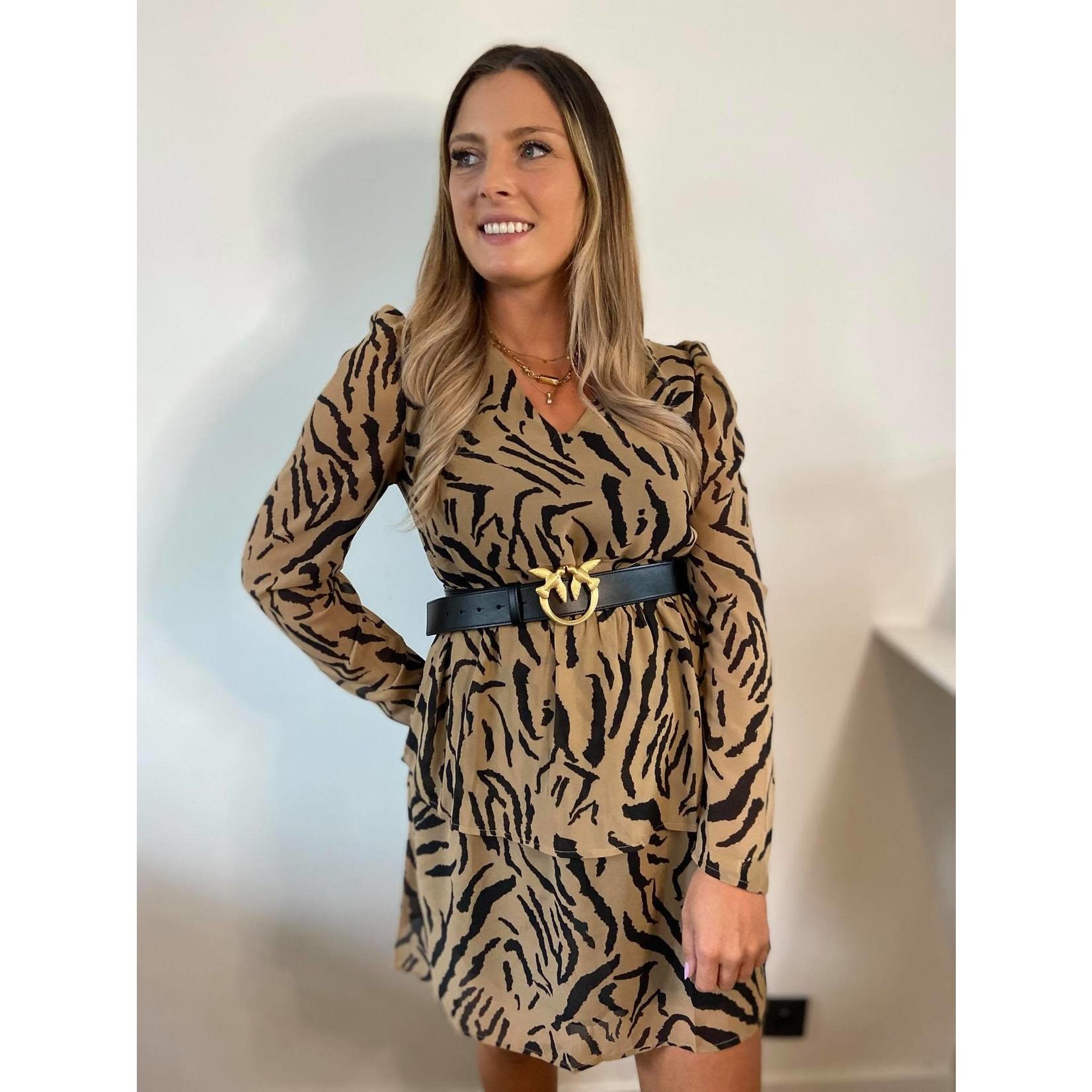 NOOMI DRESS zebra