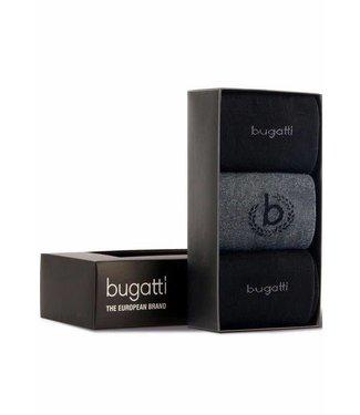 Bugatti Sokken Bugatti Box Antraciet 6762.620