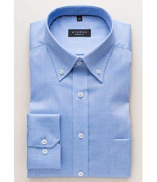 Eterna Eterna Comfort fit Oxford Blauw 8100.12.E194