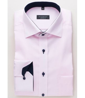 Eterna Eterna Comfort fit Oxford Roze 8100.50.E137