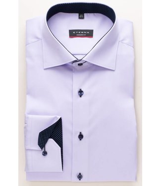 Eterna Eterna Modern fit Oxford Paars 8100.92.X13K