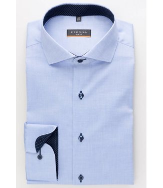 Eterna Eterna Slim fit Oxford Blauw 8100.12.F132