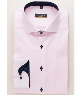 Eterna Eterna Slim fit Oxford Roze 8100.50.F132