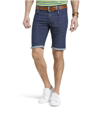 Meyer M5 Jeans Short Dark Blue 6213.18