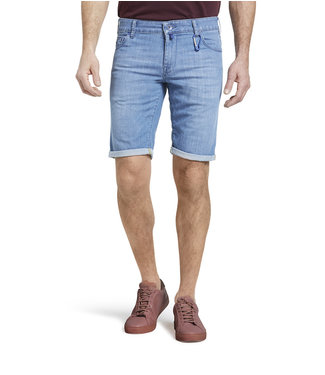 Meyer M5 Jeans Short Light Blue 6213.16