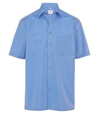 OLYMP OLYMP Comfort Fit Blauw Korte M. 5131.12.15