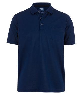 OLYMP OLYMP Modern Fit Polo D.Blauw 5402.52.14