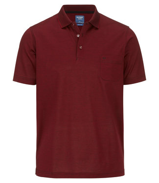 OLYMP OLYMP Modern Fit Polo D.Rood 5402.52.39