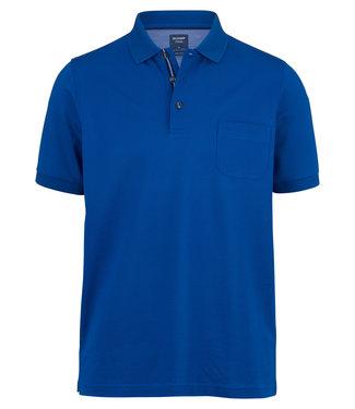 OLYMP OLYMP Modern Fit Polo Blauw 5401.52.17