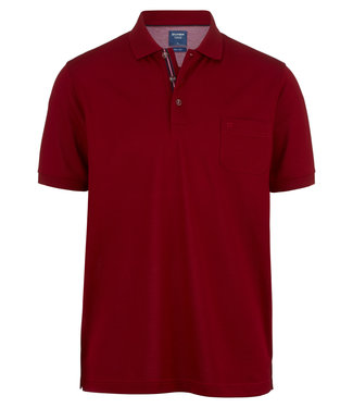 OLYMP OLYMP Modern Fit Polo D.Rood 5401.52.39