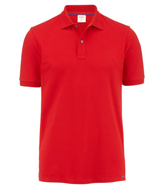 OLYMP OLYMP Body Fit Polo Rood 7500.12.34