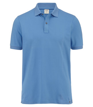 OLYMP OLYMP Body Fit Polo L.Blauw 7500.12.15