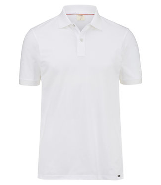 OLYMP OLYMP Body Fit Polo Wit 7500.12.00