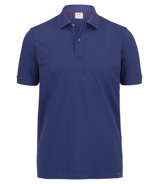 OLYMP OLYMP Body Fit Polo Indigo  7500.12.96