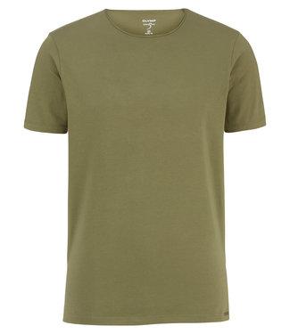 OLYMP OLYMP Body Fit T-Shirt Groen 5660.32.49