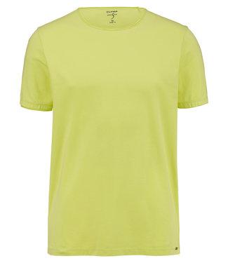 OLYMP OLYMP Body Fit T-Shirt Anijs geel 5660.32.54