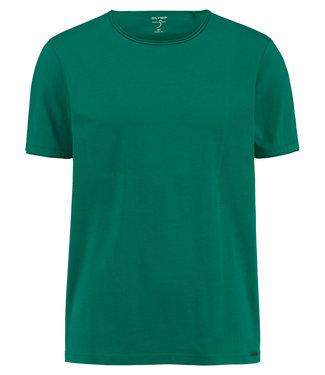 OLYMP OLYMP Body Fit T-Shirt Linde Groen 5660.32.46