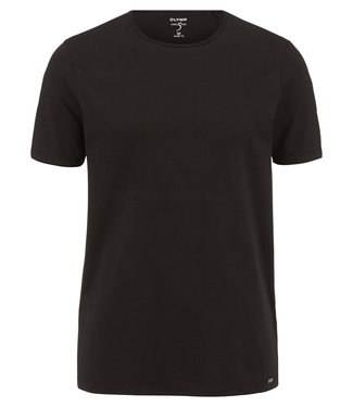 OLYMP OLYMP Body Fit T-Shirt Zwart 5660.32.68