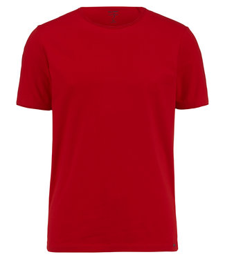 OLYMP OLYMP Body Fit T-Shirt Rood 5660.32.33