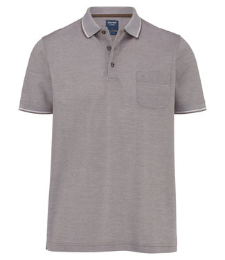 OLYMP OLYMP Modern Fit Polo L.Bruin 5400.72.25