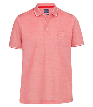 OLYMP OLYMP Modern Fit Polo  Rood 5400.72.33