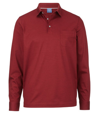 OLYMP OLYMP Modern Fit Polo D.Rood L.Mouw 5415.54.39