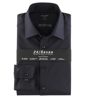 OLYMP OLYMP Modern Fit Jersey D.Blauw 1202.64.18