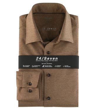 OLYMP OLYMP Modern Fit Jersey Bruin 1202.64.28