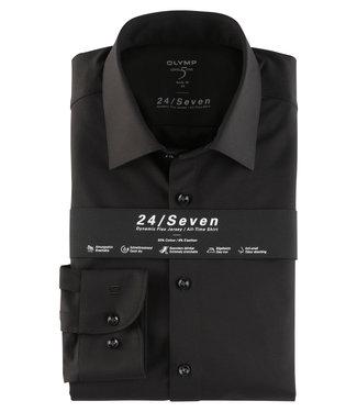 OLYMP OLYMP Level 5 Body Fit Jersey Zwart 2008.64.68