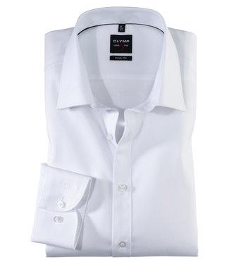 OLYMP OLYMP Body Fit Overhemd Wit 0763.64.00