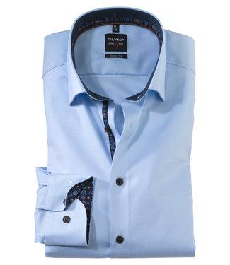 OLYMP OLYMP Body Fit Overhemd L.Blauw/bl 2142.64.12