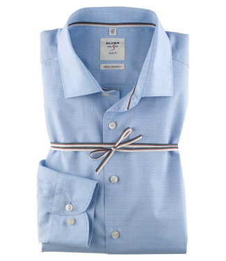 OLYMP OLYMP Body Fit Overhemd  L.Blauw   3510.44.11