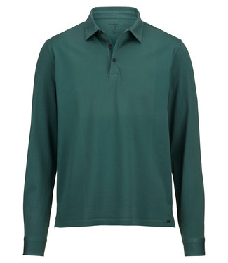 OLYMP OLYMP Body Fit Polo L.M Groen 5452.64.48