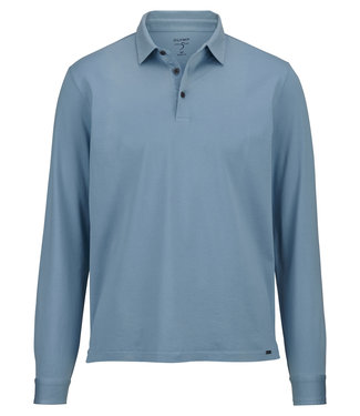 OLYMP OLYMP Body Fit Polo L.M   L.Blauw 5452.64.12