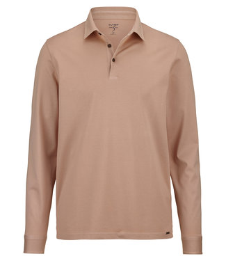 OLYMP OLYMP Body Fit Polo L.M  D.Beige 5452.64.56