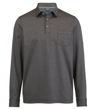 OLYMP OLYMP Modern Fit Polo L.M Antracit 5415.64.67