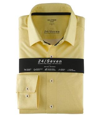 OLYMP OLYMP Modern Fit  Geel Jersey 1252.74.51